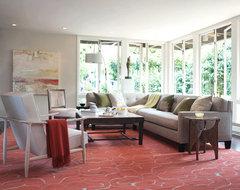 Elle Decor Home Tour modern-living-room