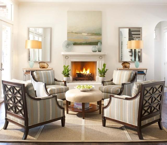 Ellen Grasso Inc - Transitional - Living Room - Dallas - by Ellen ...