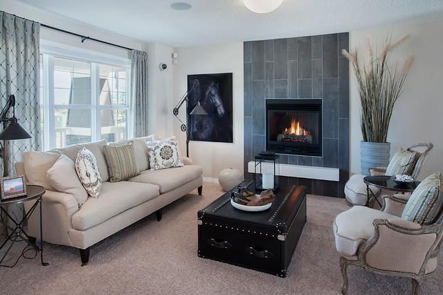 ... Livingroom Calgary Ellison Show Home In Copperfield Se Calgary Modern  Living ...