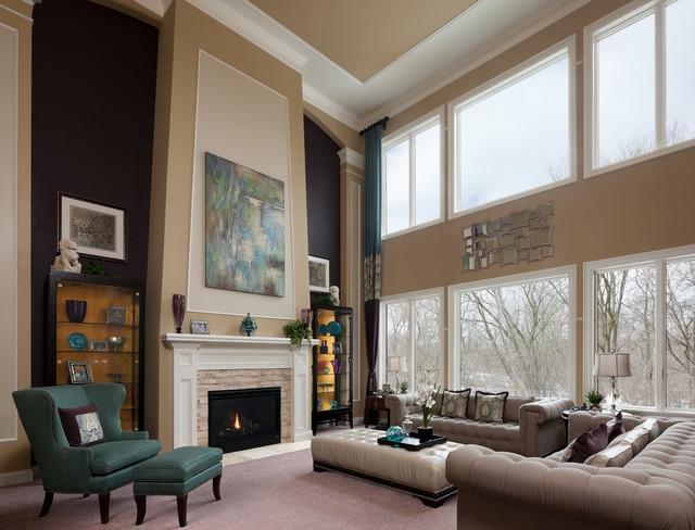 Ellsworth Model Home traditional-living-room