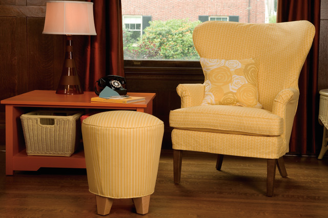 eloise wingback chair - traditional - living room - baltimore -