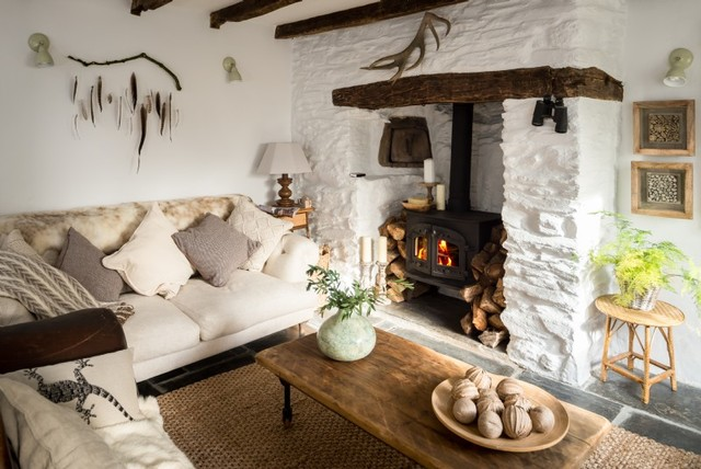 Unique Home Stays elysian country living room cornwall by unique home stays