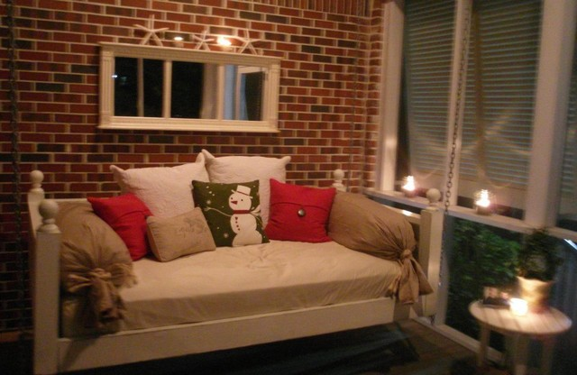 Emerson Bed Swing From Vintage Porch Swings Charleston SC Eclectic Livi