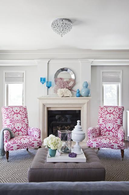 Emily Ruddo Design traditional-living-room