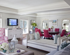 Living Room by Emily Ruddo traditional-living-room