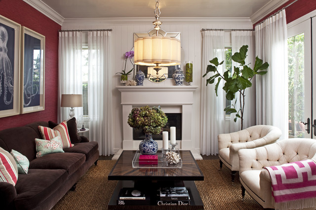 Emily Ruddo Design Traditional Living Room