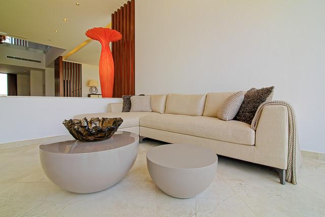 ... - Villa W18 - Dubai United Arab Emirates contemporary-living-room