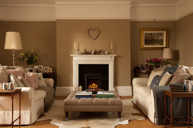 Emma johnston interior design traditional living room dublin by emma johnston interior - Home interiors living room ...