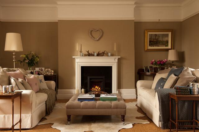 Emma Johnston Interior Design - Traditional - Living Room ...