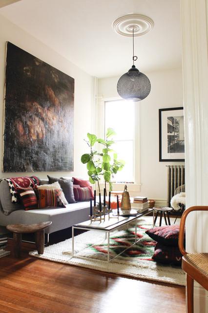 Emma's Evolving Home modern-living-room