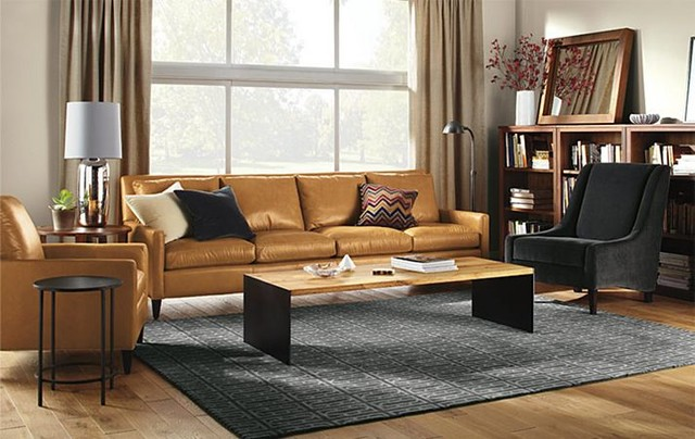 Emory Living Room by R&B - Contemporary - Living Room - Minneapolis ...