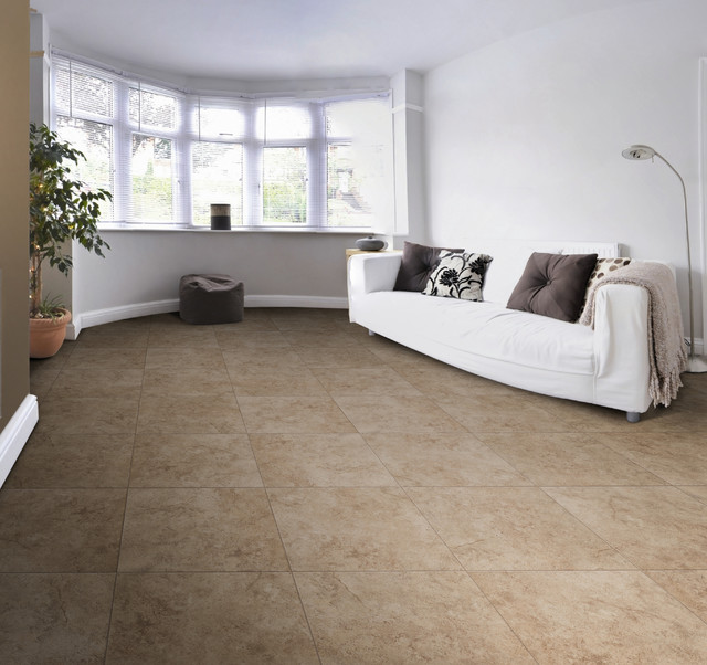 Emser Tile Toledo Noce Series Traditional Living Room
