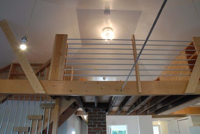Emt Tube Railing For Loft