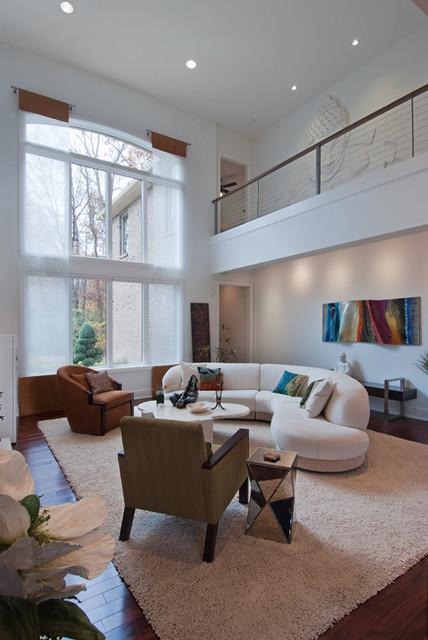 Enchanting Home contemporary-living-room