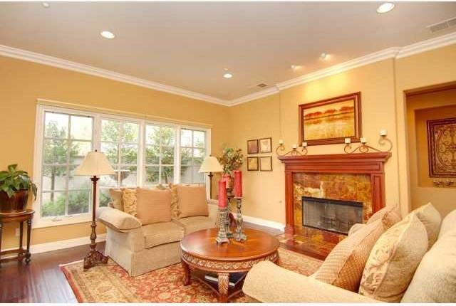 Encinitas Home traditional-living-room