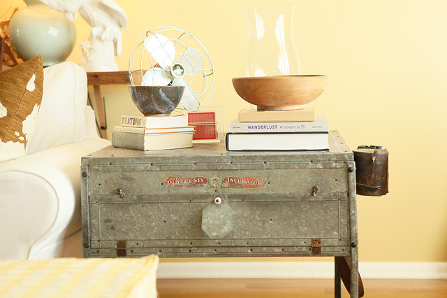 End Table - Eclectic - Living Room - Columbus - By Julie Ranee
