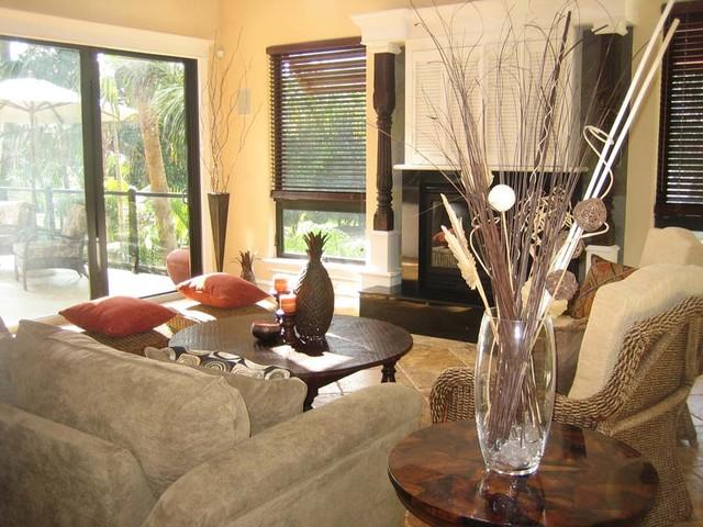 Endless Summer tropical-living-room