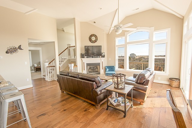 Engley home beach-style-living-room