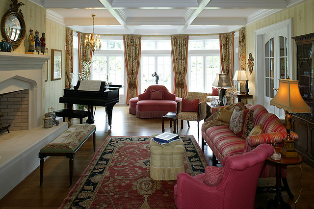 English country house for English country living room ideas