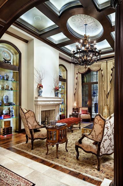 English Manor traditional-living-room