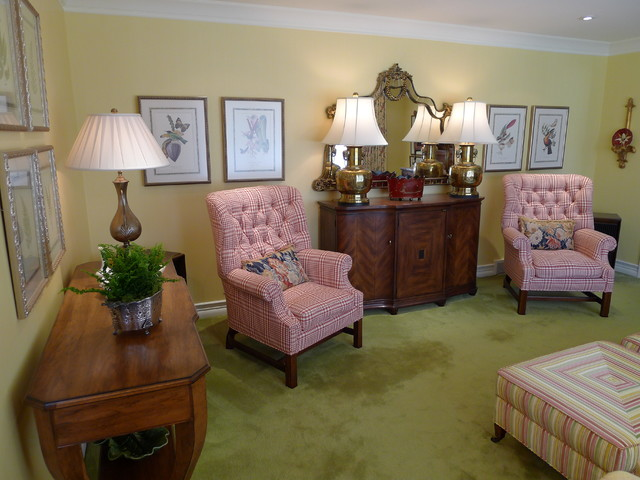 English Style Living Room Traditional Living Room