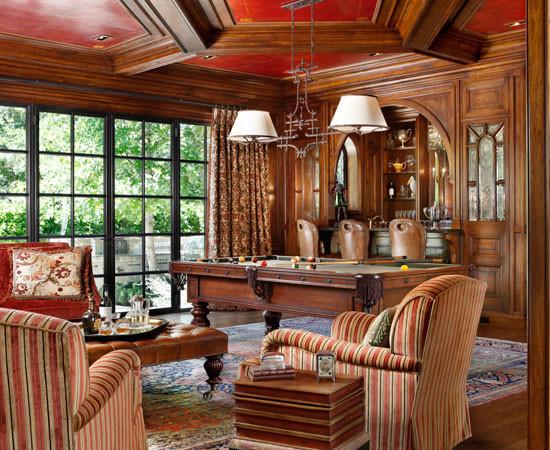 english tudor traditional living room san francisco