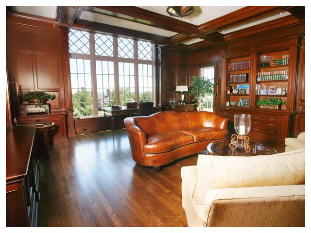 New english tudor home w hartford ct traditional living room