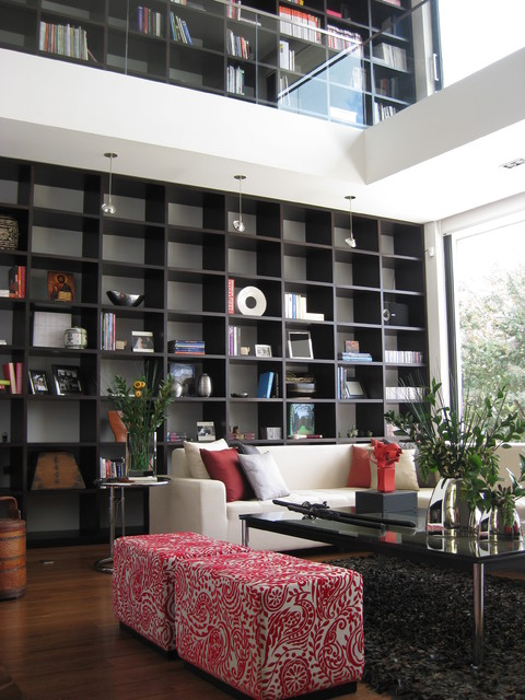Enlace Arquitectos contemporary-living-room