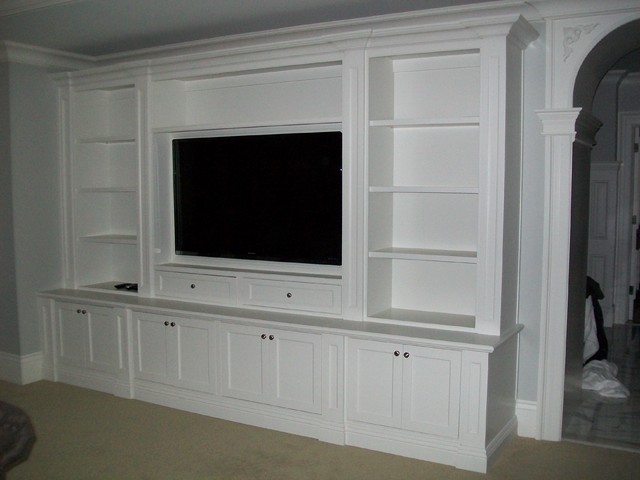 Entertainment center and wall units How to build an entertainment wall unit