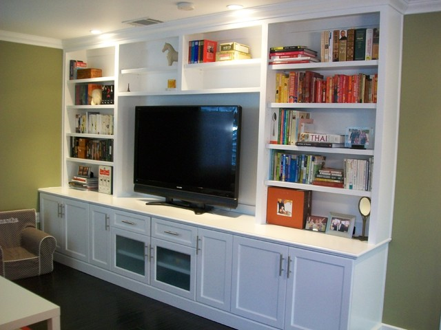 Entertainment center and wall units for Built in units for living room ireland