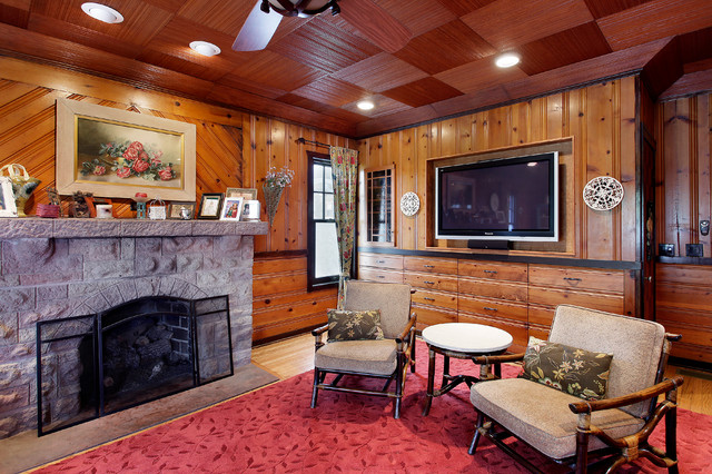 Entertainment Center - Traditional - Living Room - other metro - by Architecturally Speaking