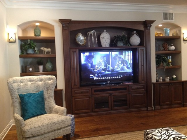 Awesome Entertainment Centers And Wall Units Traditional Living Home Interior And Landscaping Spoatsignezvosmurscom