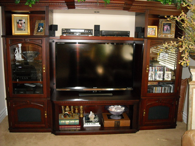 Entertainment Centers And Wall Units Traditional