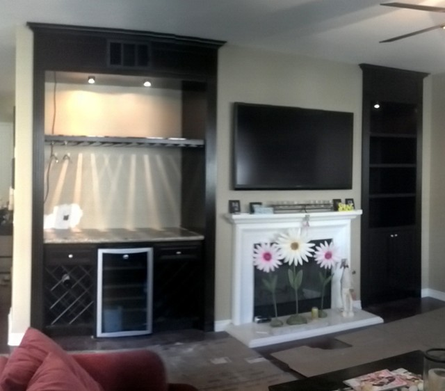 ENTERTAINMENT CENTERS Traditional Living Room Los Angeles By Dream 3
