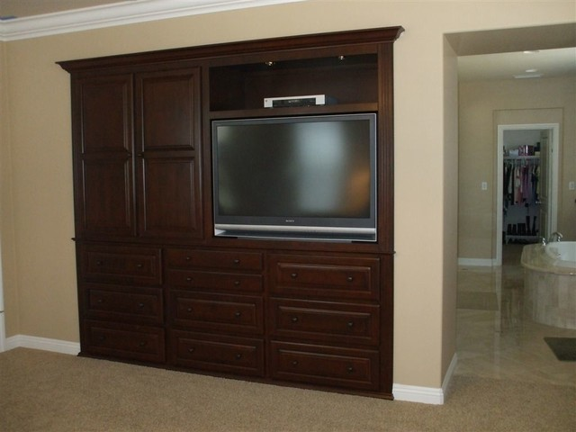 Entertainment Centers Traditional Living Room Orange County By Woodwork Creations