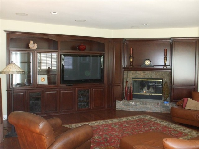 Entertainment Centers traditional-living-room