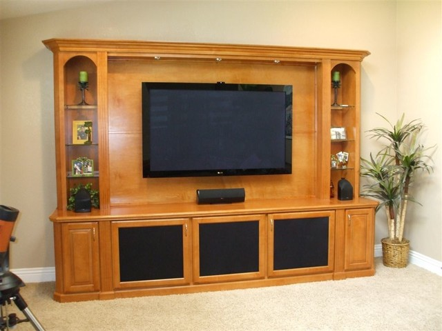 Entertainment Centers - Traditional - Living Room - orange county - by Woodwork Creations