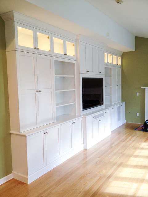 Entertainment Wall Unit Living Room New York By