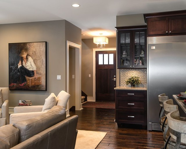 Entry Ways entryways - contemporary - living room - detroit -terry ellis