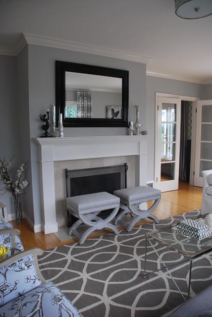 Enviable Designs Inc. transitional-living-room