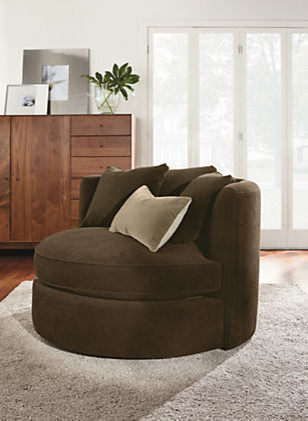 Eos Swivel Chair by R&B contemporary-living-room