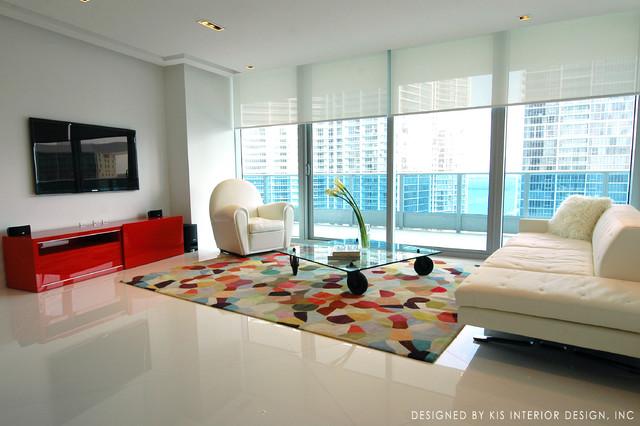 Epic apartment miami modern living room miami by for Epic apartments miami