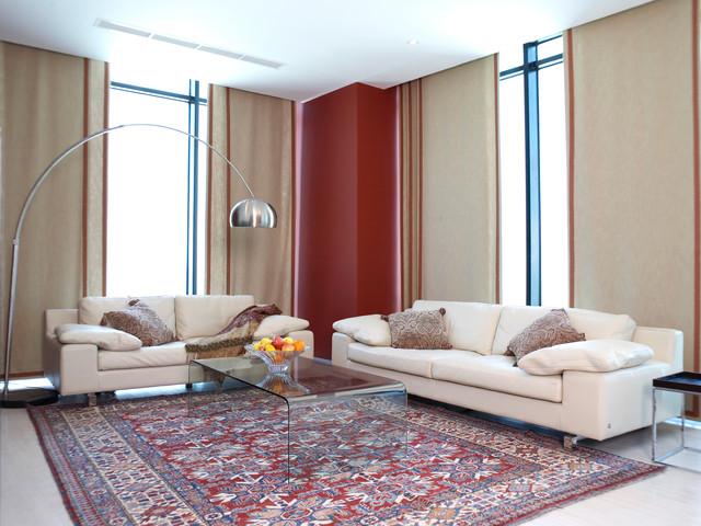 Era Tower contemporary-living-room