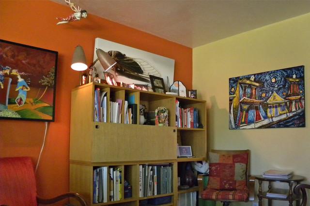 Erin Waldman eclectic-living-room