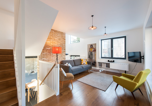 Houzz Tour Split Level Home Uses Every Square Foot