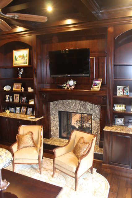 Estate in Southeastern Ohio - Traditional - Living Room - columbus - by Schlabach Wood Design