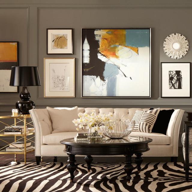 Ethan allen design eclectic living room other by for Ethan allen living room designs