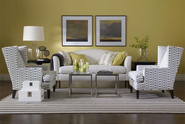 Ethan Allen Living Rooms