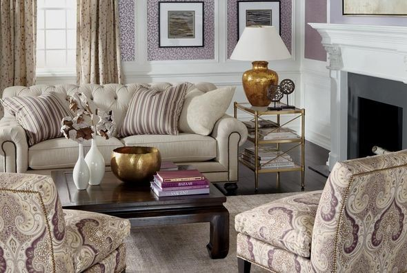 Ethan Allen Living Rooms