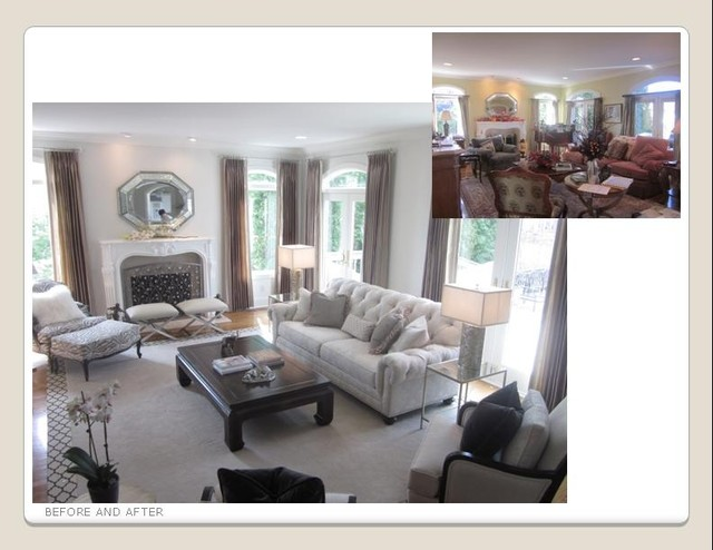 Ethan Allen Projects - Traditional - Living Room - Cleveland - by ...